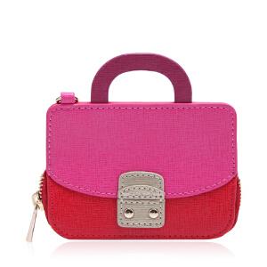 FURLA芙拉牛皮材质材质手提包样式女士钥匙扣 支持礼品卡支付