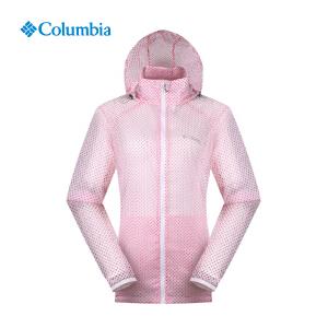 【领卷满400减100】Columbia/哥伦比亚 户外女款轻便防水透气皮肤风衣PL2289