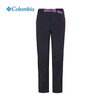 Columbia哥伦比亚户外女裤防晒防泼水弹力休闲冲锋长裤PL8138