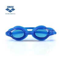 arena正品阿瑞娜 儿童游泳镜 防雾防水舒适一体式泳镜