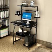 亿家达环保电脑桌 台式家用简约现代笔记本电脑桌简易书架办公桌