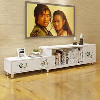 亿家达 电视柜 简约现代 茶几电视柜组合 储物柜子组合 客厅家具