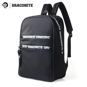 DRACONITE潮牌双肩背包男女学院风街头字母条幅旅行学生书包11640