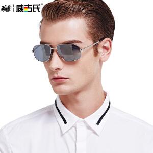 威古氏太阳镜 男士开车专用偏光太阳镜 经典时尚驾驶墨镜男1320