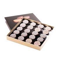 Pablo/巴布洛 巧克力月饼  圆月纯巧克力 婚庆生日礼品 200g 礼盒装 七夕情人节礼物