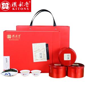 祺彤香茶叶 新茶 安溪铁观音清香型 乌龙茶原产红装250g