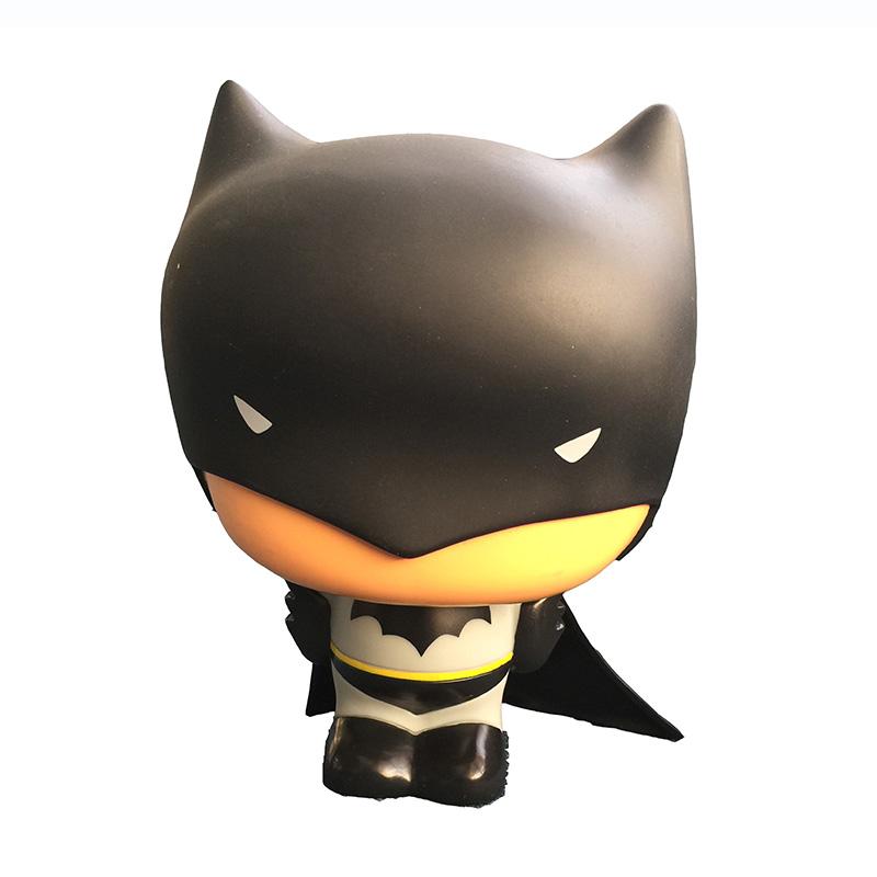 超级英雄 正义联盟《蝙蝠侠大战超人:正义黎明》 q版蝙蝠侠储蓄罐可爱