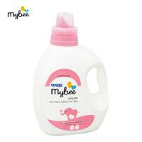 【澳门直购】Mybee新安怡曼贝婴儿衣物柔顺剂瓶装1.3L