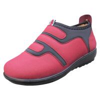 XQ/欣清新款2016冬季老北京女士保暖妈妈帆布棉鞋休闲舒适防滑