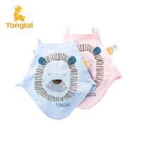 童泰2017年新款婴儿肚兜男女宝宝用品新生儿纯棉肚兜两件装