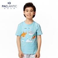 派克兰帝品牌童装 夏装男童经典时尚短袖T恤 儿童T恤