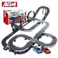 agm音速风暴儿童男孩玩具轨道车电动遥控轨道赛车赛道套装TR06