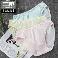 [3条装]  三枪 内裤女纯棉  舒肤棉 女士内裤 低腰三角裤