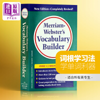Merriam Webster's Vocabulary Builder韦氏字根词典语汇 英文原版 工具书 原版词典