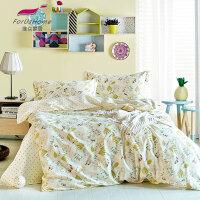 [当当自营]维众床上用品全棉三件套单人1.2m床 秘密花园