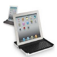 Logitech/罗技 IPad2/3 金属蓝牙键盘盒底座 保护套 便携无线键盘 全国联保 全新盒装正品