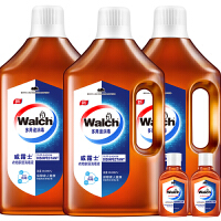 Walch/威露士衣物家居多用途消毒液1.6Lx3送60mlx2消毒水消毒率99.999%
