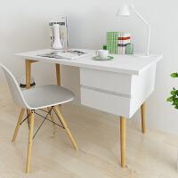 择木宜居 组合书桌 台式电脑桌子办公桌 铁架写字台电脑台