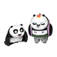 [当当自营]BANDAI万代捣蛋嘉年华-功夫熊猫-小阿宝与泡泡BANC84005