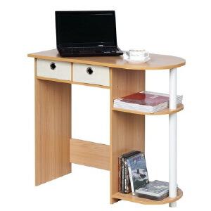 [当当自营]慧乐家 带抽电脑桌11193 木纹色 台式电脑 书桌 桌子 优品优质