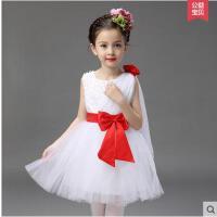 演出服 舞蹈裙 童装女童公主裙花童礼服婚纱裙蓬蓬裙儿童演出表演裙舞蹈裙
