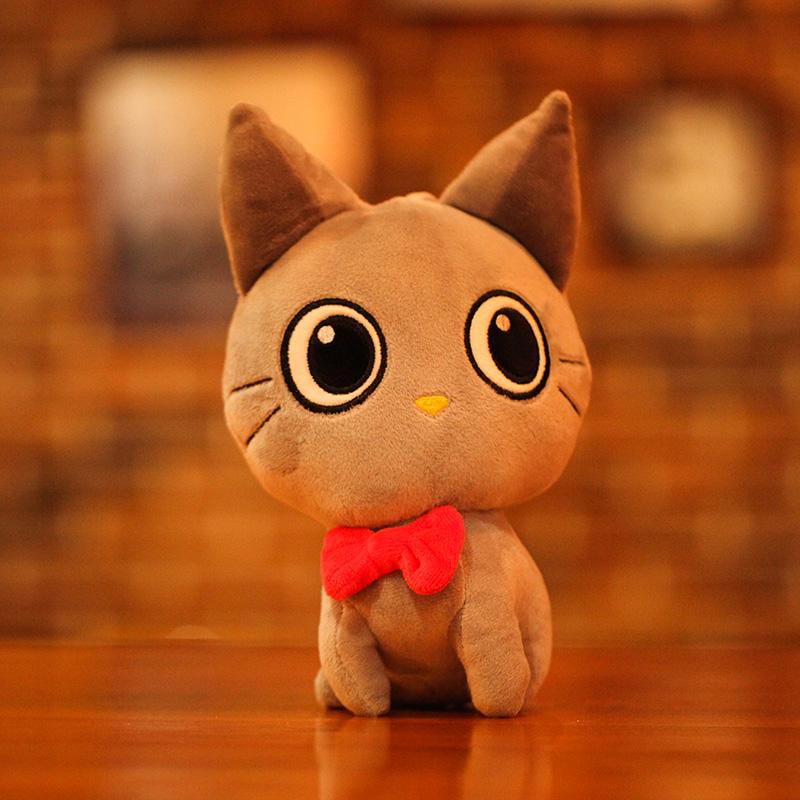 小猫咪抱枕毛绒玩具布娃娃女生小号迷你情侣猫公仔生日礼物送女孩