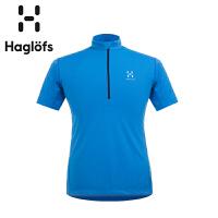 Haglofs火柴棍男款速干半拉链T恤603357(亚洲新版)