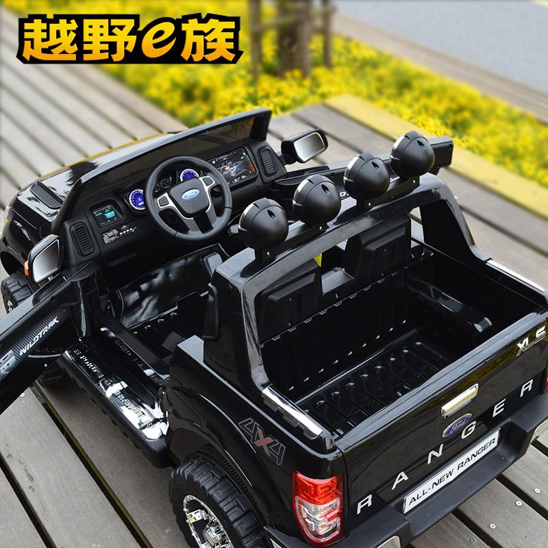 儿童电动车双座超大越野车小孩可坐四轮汽车带遥控