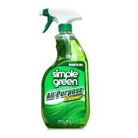 美国Simple Green木地板复合实木清洁剂 瓷砖地砖油污不锈刚桌面家具等多功能清洁剂