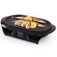 【当当自营】 利仁(Liven) KL-J441A 多功能分体式电烧烤盘 家用电烤炉 无烟不粘煎烤盘