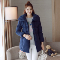 美琳妈咪孕妇装上衣春夏季装时尚棉衣外套韩版宽松  保暖棉袄大衣