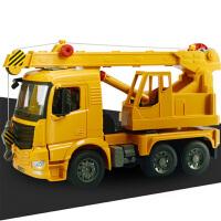 【当当自营】双鹰惯性工程车大吊车建筑儿童玩具车模型E226-002