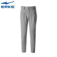 鸿星尔克女装 erke女运动裤 新款休闲裤透气针织长裤