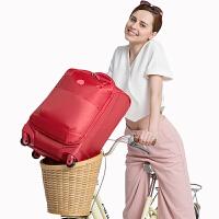 【值得买】DELSEY法国大使轻盈拉杆箱登机箱送挂锁万向轮行李箱