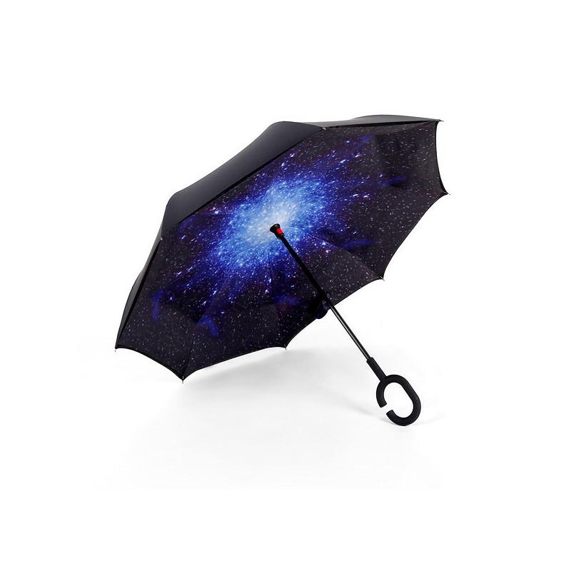 【支持礼品卡支付】遮阳伞创意反向伞汽车用双层伞免持式防风雨伞太阳