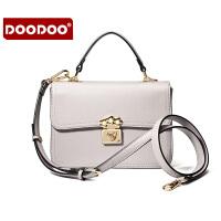 【支持礼品卡】DOODOO 2017新款夏季包包女包时尚日韩潮流马卡龙小方包单肩斜跨女士包包 D6003