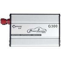 高欣车载逆变器12V转220V电源转换器G300 功率400W+USB 2.1A车充