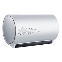 【当当自营】海尔(Haier)电热水器ES60H-T7(E)60升 3D速 无线遥控 90%超高热水输出率 储热/速热二合一技术