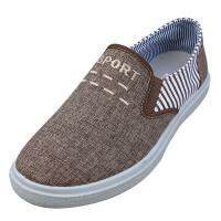 欣清夏季新品老北京布鞋男款 休闲低帮帆布鞋男布鞋子货到付款