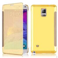坚达  手机壳保护套 手机壳镜面 翻盖皮套 适用于三星S5/G9009 保护套g9008v/g9006v/i9600保护套