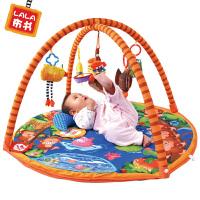 Lalababy/拉拉布书婴儿游戏垫宝宝健身架玩具0-1岁带音乐猴子捞月