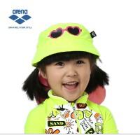 Arena 阿瑞娜  卡通儿童泳帽 太阳帽 遮阳帽 遮后颈