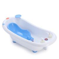 宝贝时代 大号加厚新生儿宝宝洗澡盆 婴幼儿大浴盆 儿童洗澡盆