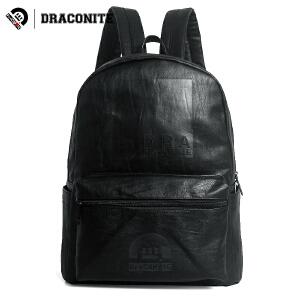 DRACONITE韩版潮户外骑行男女学生情侣防水旅行电脑双肩背包11565