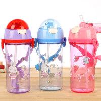 米菲正品动物星球宝宝学饮杯儿童保温吸管杯防漏学生水杯