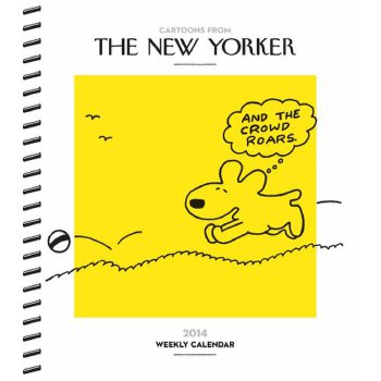 Cartoons from The New Yorker 2014 Weekly Planner Calendar [ISBN: 978-1449430689]