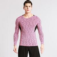 2017新款运动服装紧身长袖健身服男士休闲T恤上衣