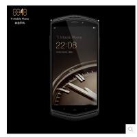 8848钛金手机 荷兰进口小牛皮钛金属机身内存128G