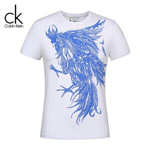 CKJ 短袖 T恤 男士 Calvin Klein Jeans夏季新款 35-4-4-CK07