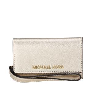 MICHAEL KORS/迈克.科尔斯 MK Electronics 手机钱夹 亮晶 银泰 支持礼品卡支付